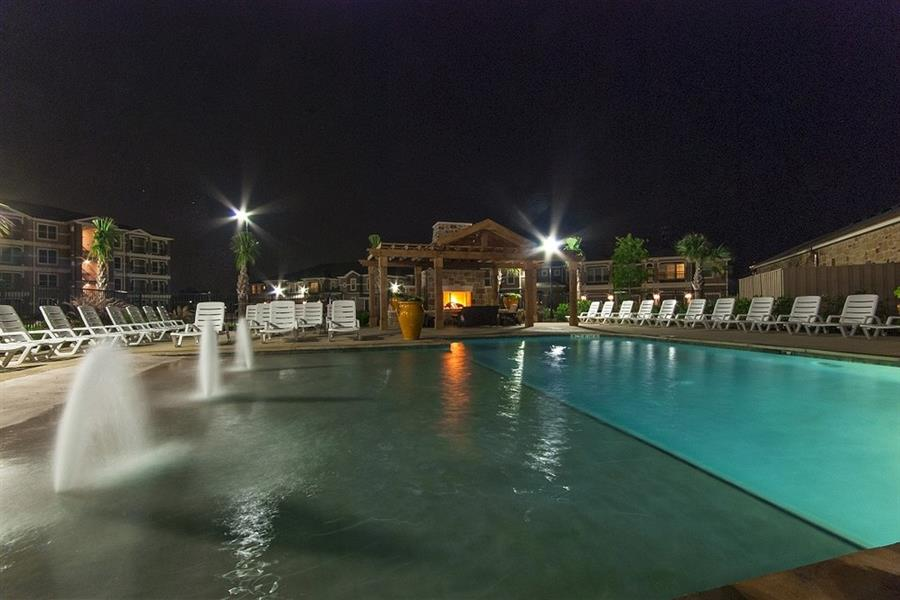 Resort-style Pool with Sundeck at Parc Woodland, TX,