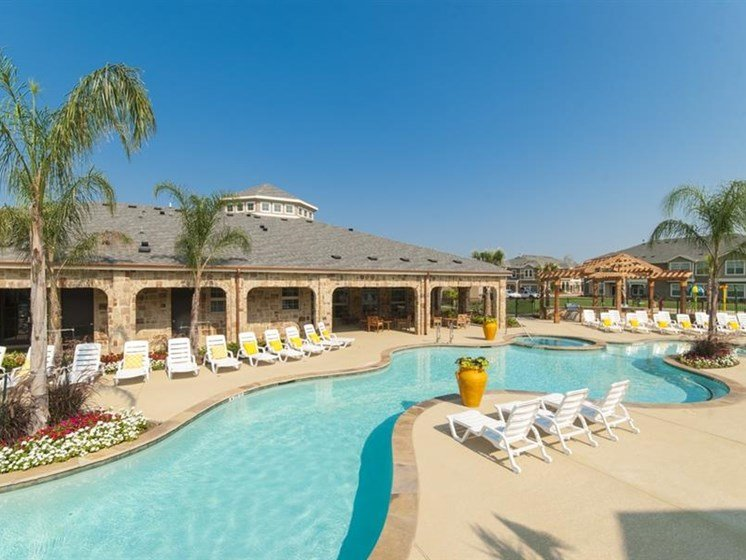 Resort-style Pool with Sundeck at Parc Woodland, Conroe, TX, 77384