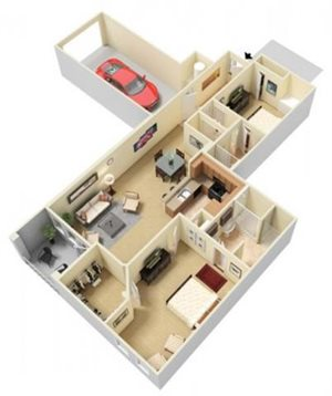Asteria Floorplan at Parc Woodland