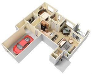Axis Floorplan at Parc Woodland