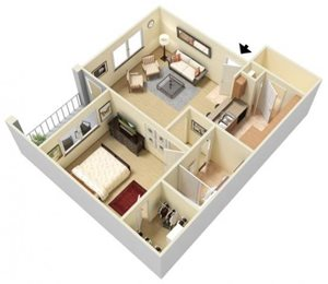 Halo Floorplan at Parc Woodland