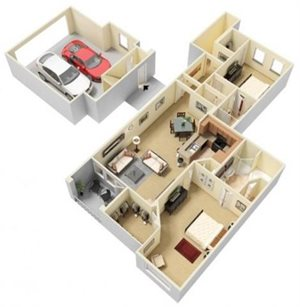 Kalinda Floorplan at Parc Woodland