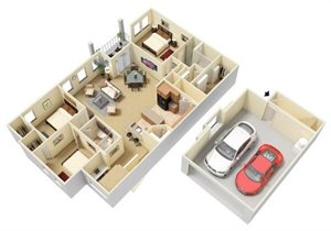 Nebula Floorplan at Parc Woodland