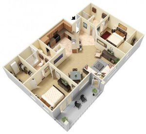 Nova Floorplan at Parc Woodland