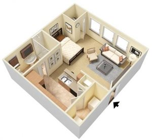 Zenith Floorplan at Parc Woodland