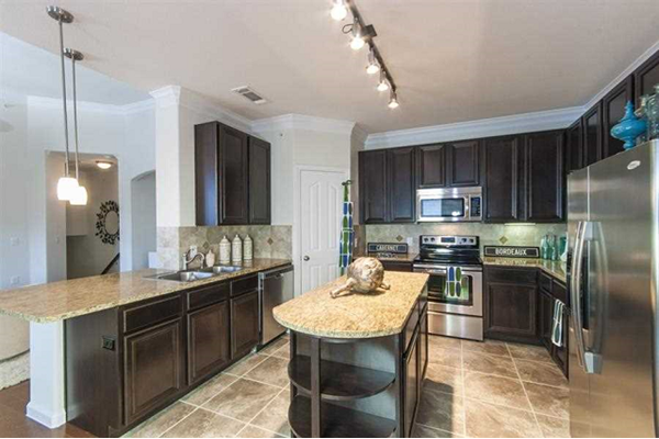 stainless steel appliances in Kitchens at Parc Woodland, Conroe, TX,77384