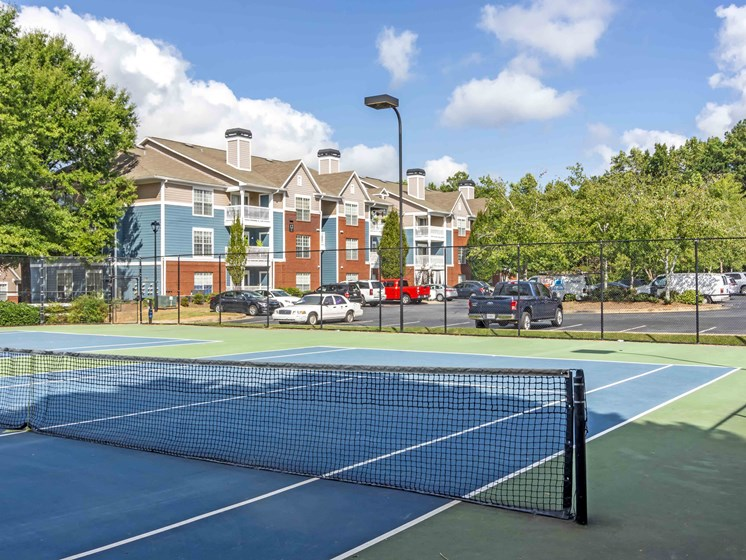 Lighted Regulation Tennis Courts