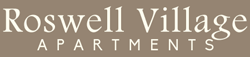 at Roswell Village Apartments Logo, Roswell