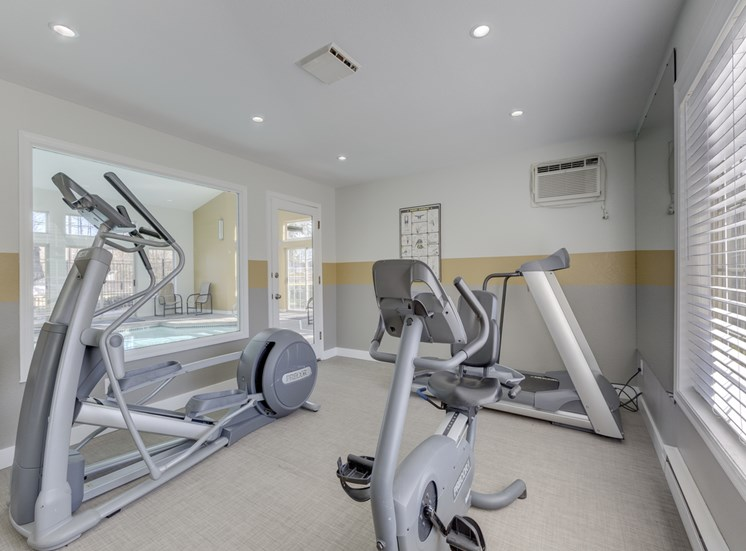 Health and Fitness Center at Saratoga Apartments, Everett, 98204