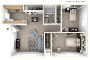 Two Bedroom - Standard
