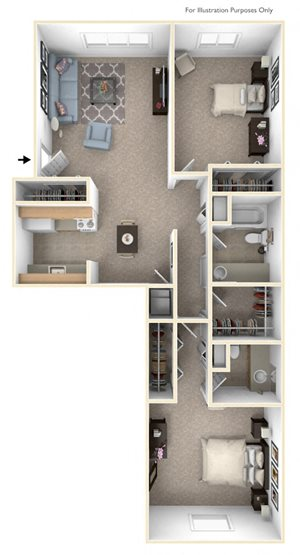 Two Bedroom Walkthru