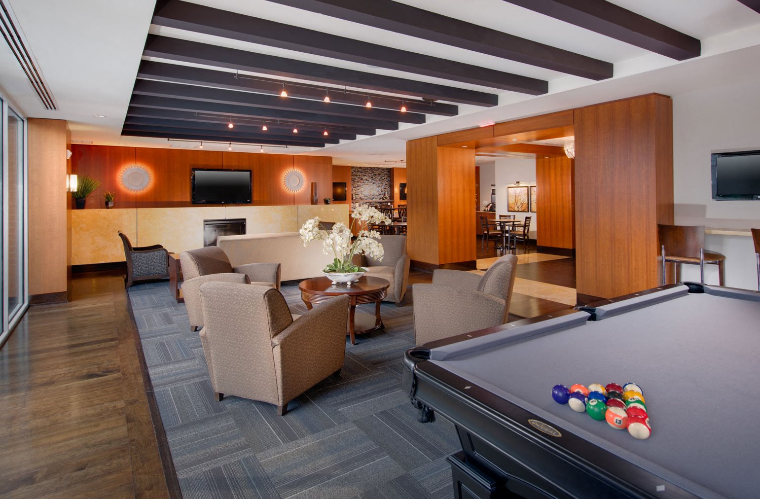 Newly Renovated Clubhouse With Billiards At The Ridgewood By Windsor 4211 Ridge Top Road