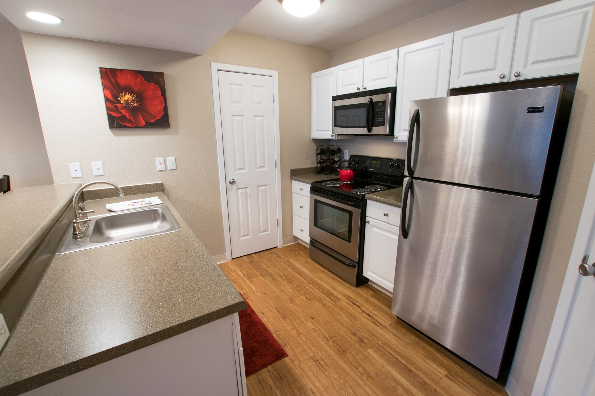 Kitchen at Miramont Apartments in Fort Collins, CO