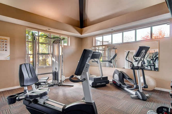 Fitness Center at Pinecone Apartments in Fort Collins, CO