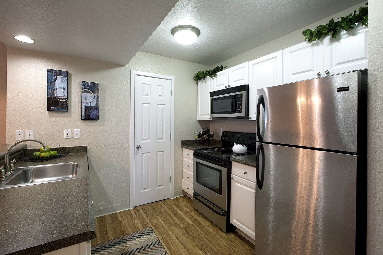 Kitchen at Pinecone Apartments in Fort Collins, CO
