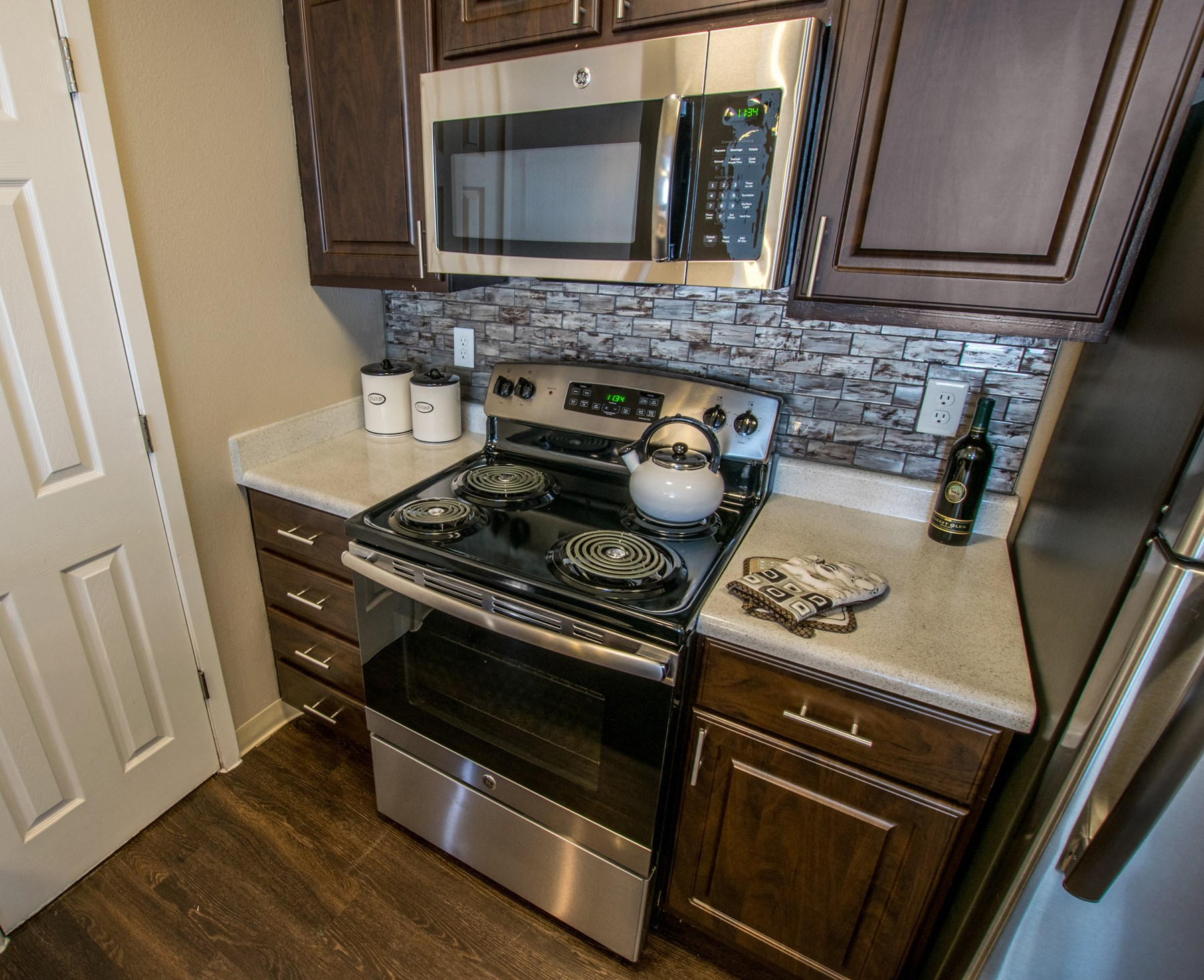 Upgraded Kitchen at Pinecone Apartments in Fort Collins, CO