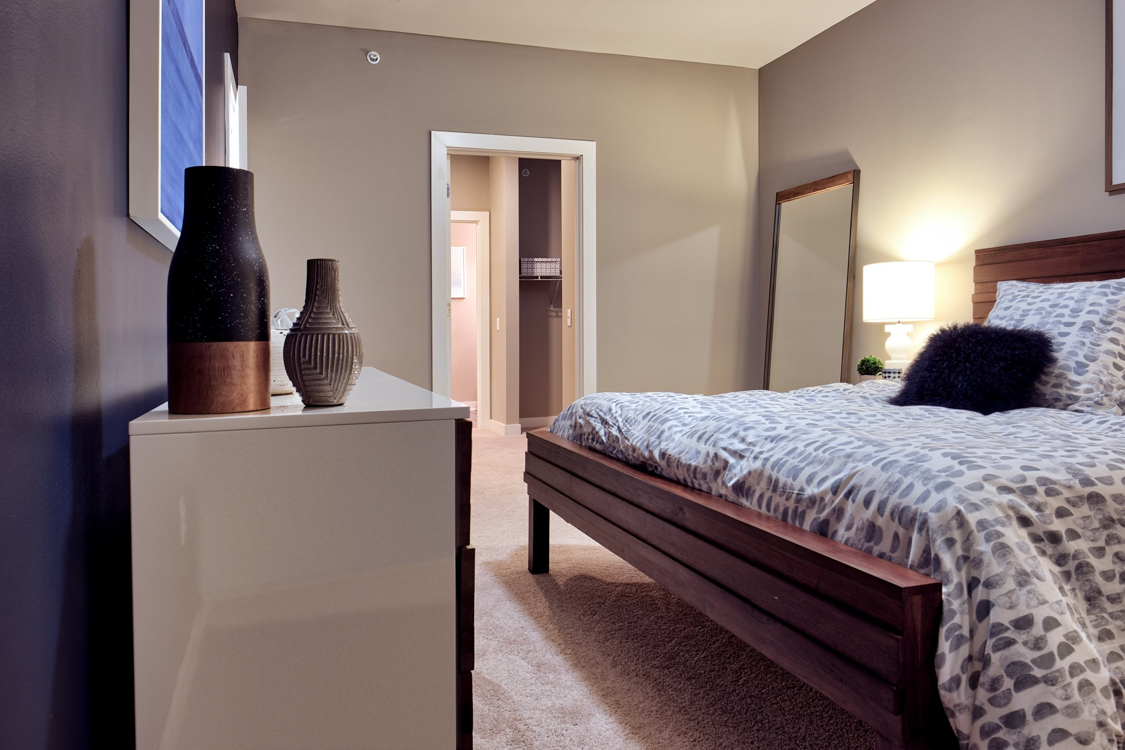 Spacious Bedrooms at The Ridge at Robinson Apartments, Pittsburgh