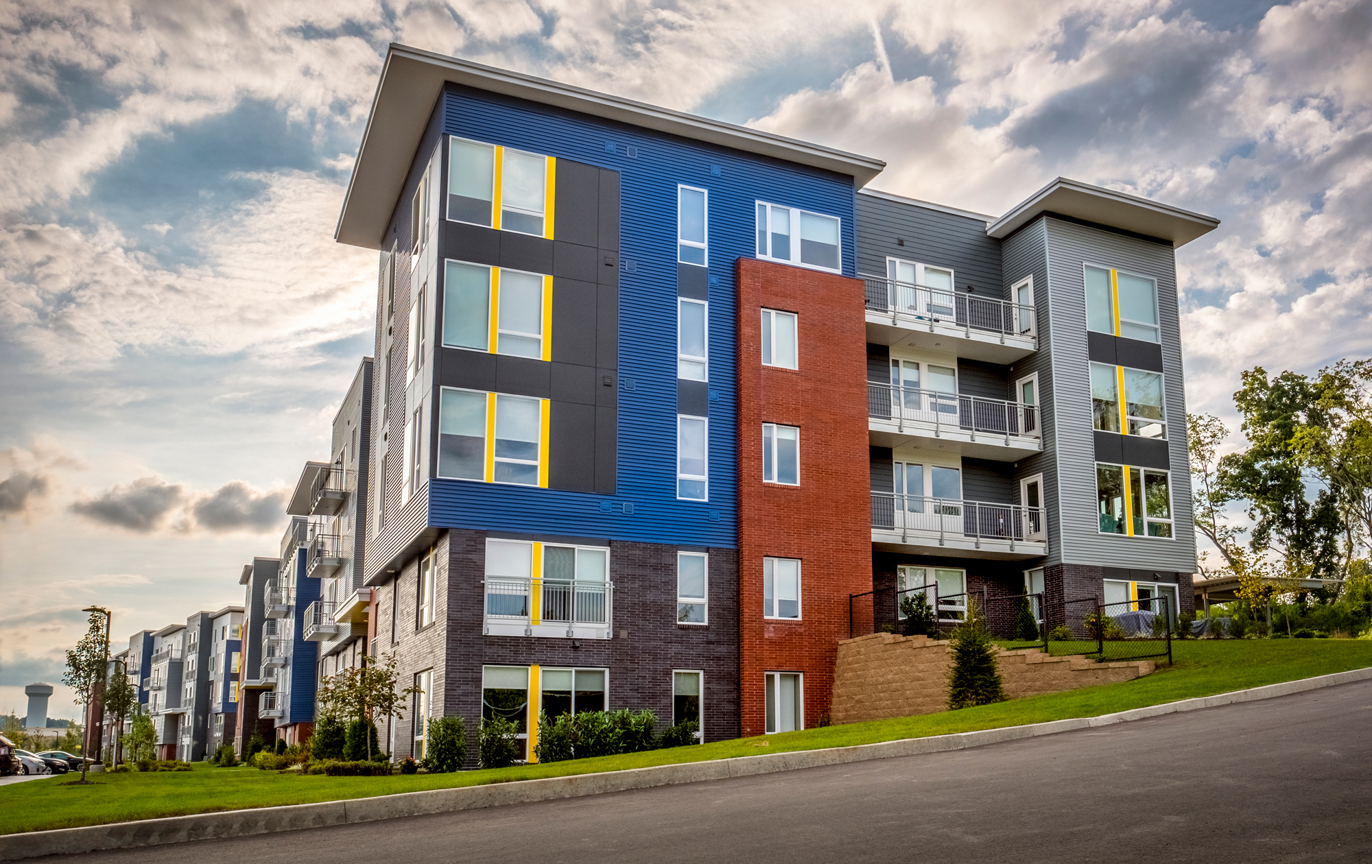Awesome Solid Concrete Construction At The Ridge At Robinson Apartments,  Pennsylvania