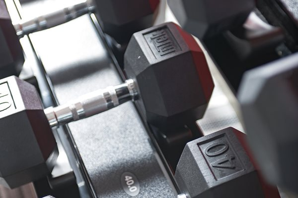 Free Weights at Orlando Apartments_Lugano Apartments_Luxury Apartments in Kissimmee, Florida