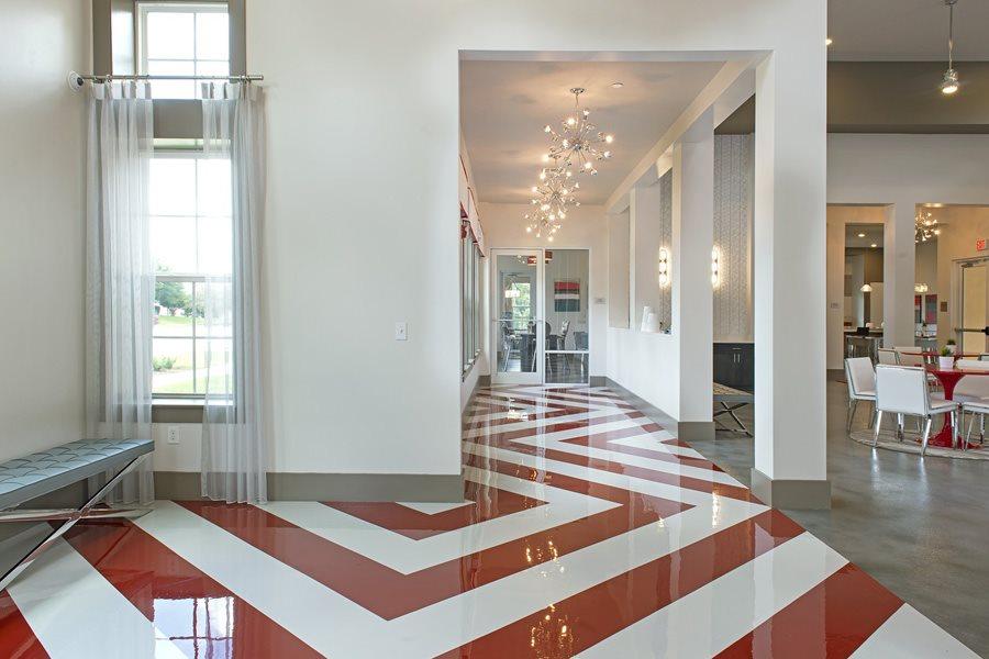 Residents' Lounge with Lanai at Orlando Apartments_Lugano Apartments_Luxury Apartments in Kissimmee, FL