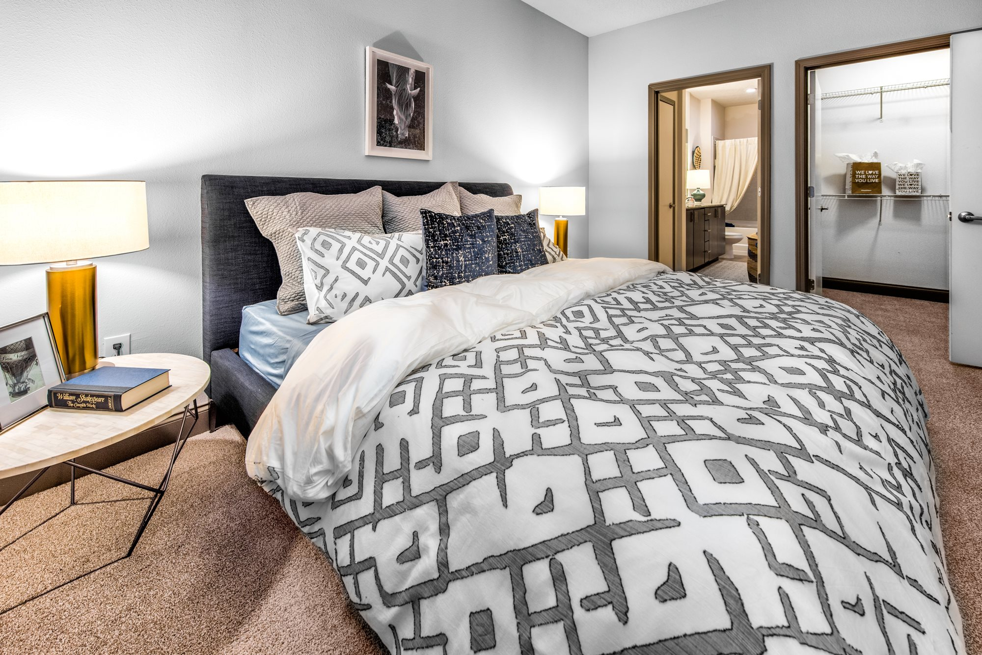 Spacious Bedrooms with en Suite Bathrooms at Lugano Apartments, Kissimmee, 34741