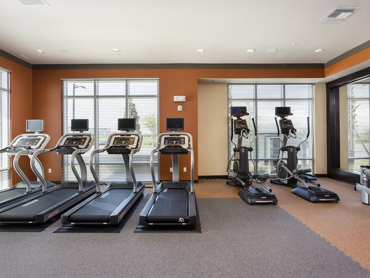 Landon House Apartments in Lake Nona Orlando, FL 32827 fitness center with cardio studio