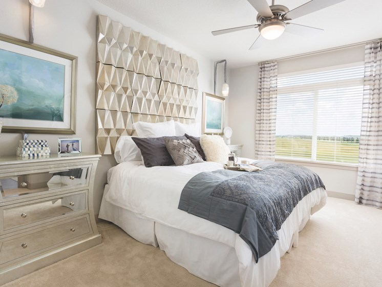 Landon House Apartments in Lake Nona Orlando, FL 32827 spacious bedroom with natural light