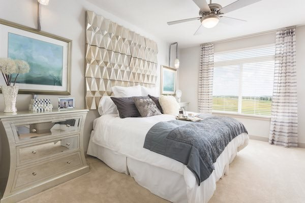 Landon House apartments in Orlando, Florida's Lake Nona Neighborhood large bedroom with walk-in closet