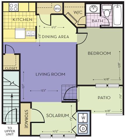 Floor Plans Of St Johns Plantation In Jacksonville Fl