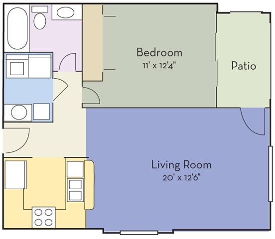 Lake Jasmine Apartments: View Our Spacious Floor Plans Today
