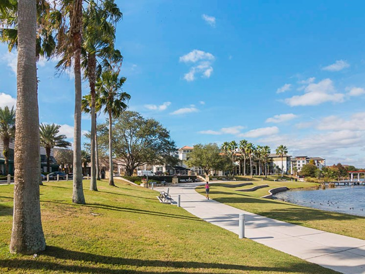 Enders Place at Baldwin Park Pathway