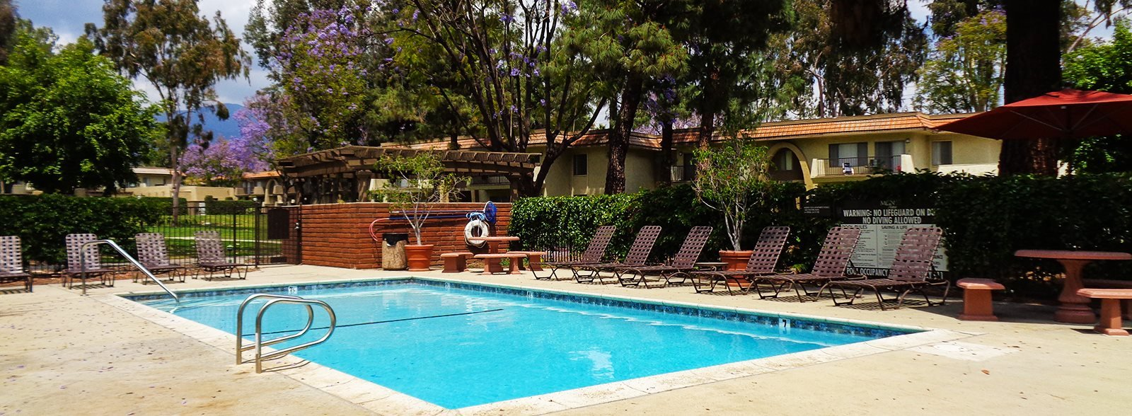 One of Two Swimming Pools at Monte Vista Apartment Homes, CA, 91750