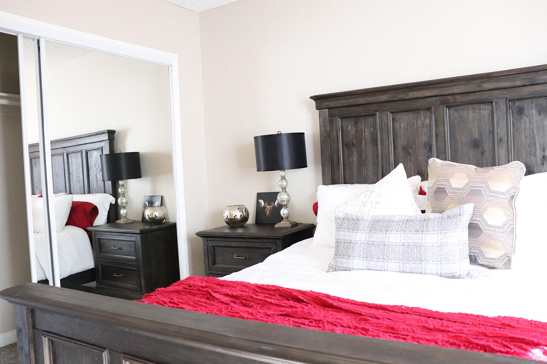 Attached Closet in Bedroom at Monte Vista Apartment Homes, La Verne, CA