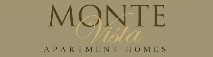 Monte Vista Apartment Homes Logo, La Verne CA Apts, 91750