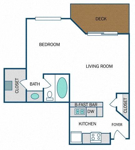 Bainbridge Renovated (E1R) Floor Plan 2
