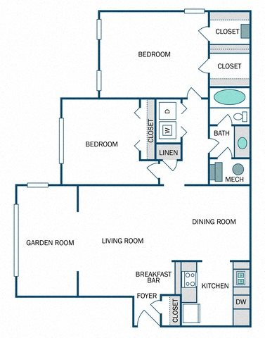 Glory Renovated (B1SR) Floor Plan 12