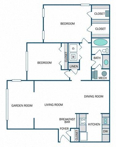 Helena Renovated (B1R) Floor Plan 10