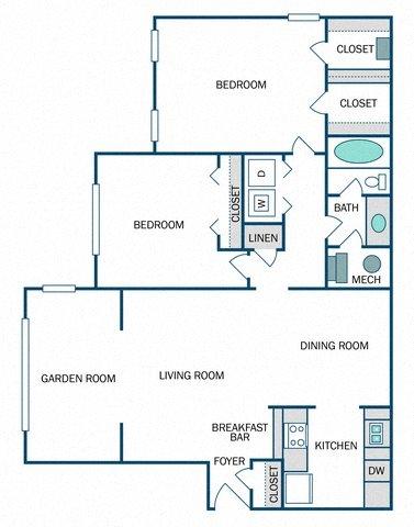 Helena (B1) Floor Plan 9