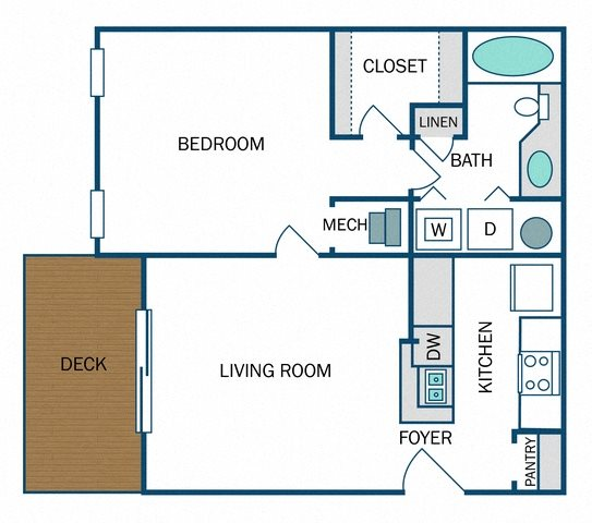 Madison Renovated (A2R) Floor Plan 8