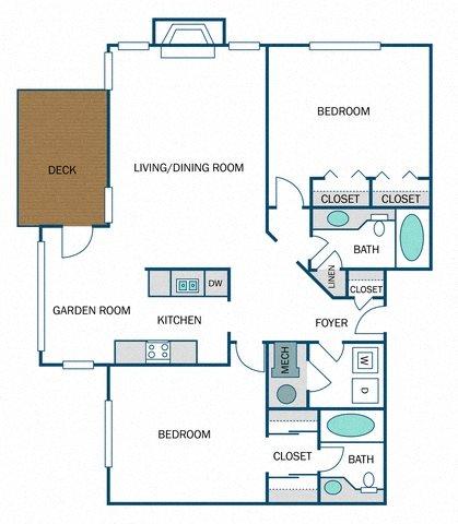 Trenton Renovated (B3R) Floor Plan 18