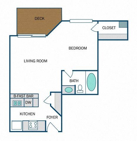 Waverly Renovated (E2R) Floor Plan 4