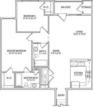 B3 Upper Floor Plan