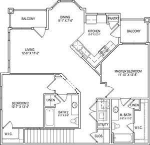 B6 Upper Floor Plan