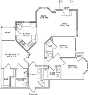 C1 Lower Floor Plan