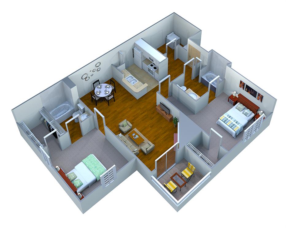 Norway Floor Plan 4