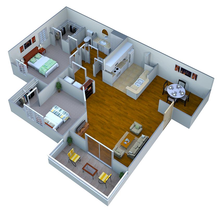 Hawthorn Floor Plan 3