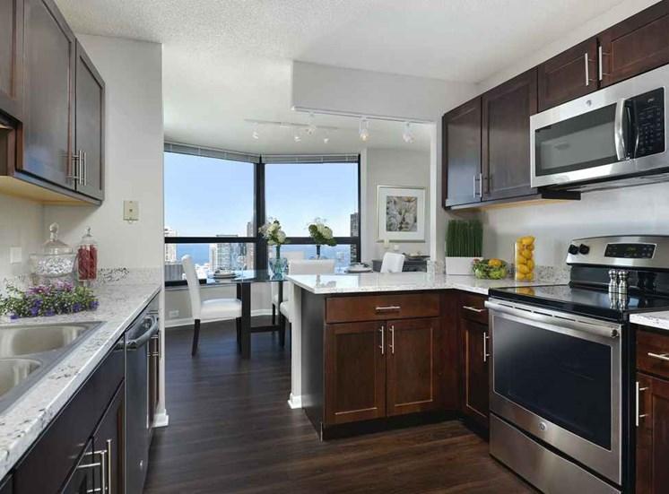North Harbor Tower Kitchen