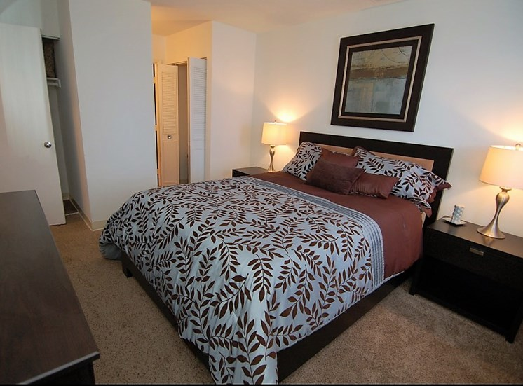 Deercross Apartment Bedroom
