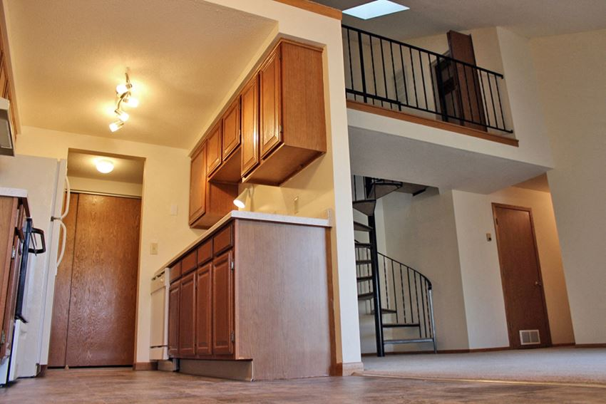 Basswood Apartments kitchen