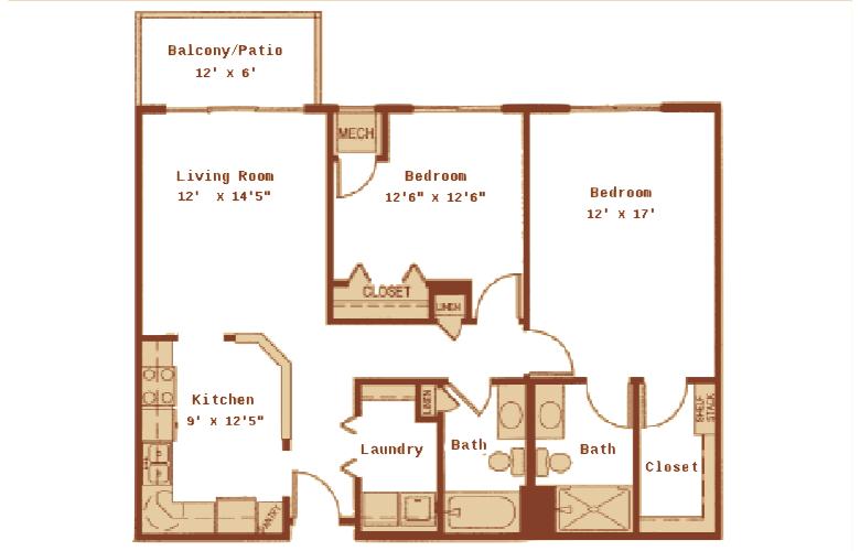Lakewood Place Apartments in White Bear Lake